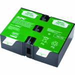UPS Replacement Battery Cartridge # 123 - Sealed Lead Acid - Spill-proof/Maintenance-free - Hot Swappable - 3 Year Minimum Battery Life - 5 Year Maximum Battery Life