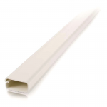 2 pack 8ft Wiremold Uniduct 2900 - Ivory - Raceway - Ivory - 20 Pack - Polyvinyl Chloride (PVC)