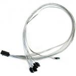 Mini-SAS HD/SAS Data Transfer Cable - Mini-SAS HD/SAS - 2.62 ft - SFF-8643 Mini-SAS HD - SFF-8643 SAS