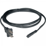 6ft Laptop / Notebook Power Cord Cable 1-15P to C7 10A 18AWG 6 - Power cable - NEMA 1-15 (M) to IEC 60320 C7 - 6 ft - black