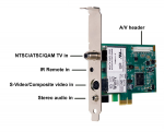WINTV-HVR-1265 TV TUNER PCIE X1 OR X16 NTSC/ATSC/QAM HD W/REMOTE
