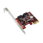 2-port SATA PCI Express 2.0 x1 Controller - 2 x 7-pin Serial ATA/600 Serial ATA Internal - PCI Express 2.0 x1