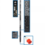 25.2kW 3-Phase Switched PDU - 12 C13 & 12 C19 Outlets IEC 309 60A Red 0U Outlet Monitoring TAA - Power distribution unit (rack-mountable) - 35 A - AC 415 V - 25.2 kW - 3-phase - Ethernet 10/100/1000 - input: IEC 60309 3P+N+E - output connectors: 24 (1