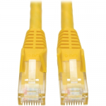 Premium Cat6 Gigabit Snagless Molded UTP Patch Cable 24 AWG 550 MHz/1 Gbps (RJ45 M/M)  Yellow 35 ft. - Patch cable - RJ-45 (M) to RJ-45 (M) - 35 ft - UTP - CAT 6 - IEEE 802.3ab/IEEE 802.5 - molded snagless solid - yellow