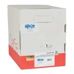 1000FT CAT5 / CAT5E CABLE SOLID CMP PLENUM PVC WHITE 1000FT