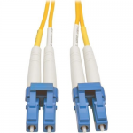 40M Duplex Singlemode 8.3/125 Fiber Optic Patch Cable LC/LC 131 131ft 40 Meter - Patch cable - LC single-mode (M) to LC single-mode (M) - 40 m - fiber optic - 8.3 / 125 micron - yellow