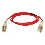 10M DUPLEX MULTIMODE 62.5/125 FIBER OPTIC PATCH CABLE RED LC/LC 3 33FT 10 METER