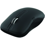 Wireless Optical Notebook Mouse Commuter Series - Mouse - optical - 3 buttons - wireless - USB wireless receiver - matte black