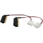 2.5 inch to 3.5 inch IDE Hard Drive Adapter 2-Pack - IDE / EIDE adapter - 40 pin IDC 4 pin internal power (M) to 44 pin IDC (F) (pack of 2)
