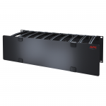 Cable Management - Rack cable management panel with cover - black - 3U - for P/N: AR3100 AR3150