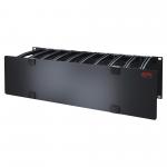 Cable Management - Rack cable management panel with cover - black - 3U - for P/N: SMC1000I-2UC SMC1500I-2UC SMC1500IC SRT1000RMXLI SRT1000RMXLI-NC SRT5KRMXLW-HW
