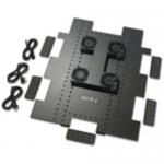 Roof Fan Tray - Rack fan tray - AC 208/230 V - black - for NetShelter SX