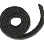 25ft Hook-and-Loop Cable Wrap - Cable Wrap - Black
