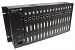 POWERED RACK/CHASSIS WITH DUAL DVI-D CAT6 STP TRANSMITTER