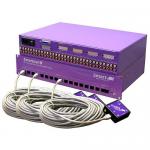 16X8 MATRIX COMPOSITE STEREO AUDIO RS-232 IR CAT5