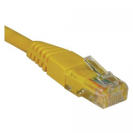 15ft Cat5e Cat5 Snagless Molded Patch Cable RJ45 M/M Yellow 15 - Patch cable - RJ-45 (M) to RJ-45 (M) - 15 ft - UTP - CAT 5e - IEEE 802.3ba - molded snagless stranded - yellow