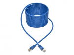 Cat6a 10G-Certified Snagless Shielded STP Network Patch Cable (RJ45 M/M)  PoE Blue 20 ft. - Patch cable - RJ-45 (M) to RJ-45 (M) - 20 ft - STP - CAT 6a - IEEE 802.3af - snagless stranded - blue