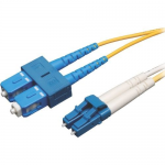 20M Duplex Singlemode 8.3/125 Fiber Optic Patch Cable LC/SC 65 65ft 20 Meter - Patch cable - LC single-mode (M) to SC single-mode (M) - 20 m - fiber optic - 8.3 / 125 micron - yellow