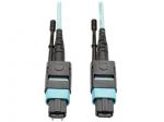 5M MTP/MTO Multimode Cable 12 Fiber 40 GbE OM3 Aqua M/F 16ft 16 5 Meter - Patch cable - MTP/MPO multi-mode (F) to MTP/MPO multi-mode (M) - 5 m - fiber optic - 50 / 125 micron - OM3 - plenum - aqua