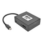2-Port Mini DisplayPort to DisplayPort Multi-Stream Transport 4Kx2K - Video splitter - 2 x DisplayPort - desktop - TAA Compliant