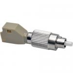 Optical Fiber Cable Tester Adapter FC/LC 50/125 M/F - Network adapter - FC multi-mode (M) to LC multi-mode (F) - fiber optic - 50 / 125 micron - silver beige