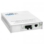 100Base-TX To 100Base-FX MMF ST 1310nm 2km Media Converter - 1 x Network (RJ-45) - 1 x ST Ports - No - Multi-mode - 10/100Base-TX 100Base-FX - External