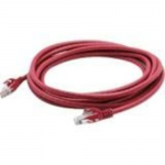 Patch cable - RJ-45 (M) to RJ-45 (M) - 33 ft - STP - CAT 6 - booted, molded, plenum, snagless - red