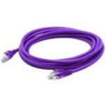 Patch cable - RJ-45 (M) to RJ-45 (M) - 5 ft - UTP - CAT 6a - molded, snagless - purple