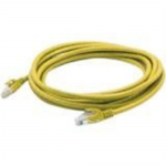 Patch cable - RJ-45 (M) to RJ-45 (M) - 15 ft - UTP - CAT 6a - molded snagless - yellow