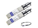 0.5m Juniper Compatible QSFP+ DAC - 40GBase direct attach cable - QSFP+ (M) to QSFP+ (M) - 1.6 ft - twinaxial - active