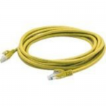 Patch cable - RJ-45 (M) to RJ-45 (M) - 6.6 ft - STP - CAT 6 - booted, plenum, snagless - yellow