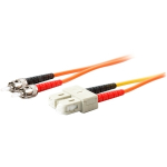 2 x ST 50/125 to 1 x SC 50/125 & 1 x SC 9/125 3m Fiber Optic Mode Conditioning Patch Cable - Fiber Optic for Network Device - 9.84 ft - 2 x ST Male Network - 2 x SC Male Network