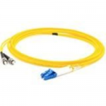 Patch cable - LC/UPC single-mode (M) to ST/UPC single-mode (M) - 40 m - fiber optic - 9 / 125 micron - OS1 - riser - yellow