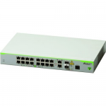 CentreCOM FS980M/18 - Switch - L3 - managed - 16 x 10/100 + 2 x combo Gigabit SFP - rack-mountable