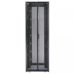 NETSHELTER SX 48U 750MM WIDE X 1200MM DEEP ENCLOSURE WITH SIDES BLACK -2000 LBS.