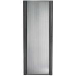 Rack door (two leaf vented) - black - 48U - for NetShelter SX