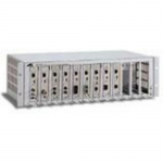 12SLOT MEDIA CONVERTER CHASSIS with 1 AC POWER SUPPLY