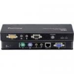 ProXime KVM Console/Extender - 1 Computer(s) - 492.13 ft Range - 2 x Network (RJ-45) - 4 x PS/2 Port - 2 x VGA - Rack-mountable