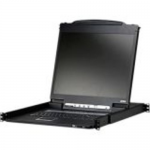 The CL3000 Lightweight PS/2-USB LCD Console is an integrated KVM (keyboard, monitor, and mouse) console module that serves as the front end console for compatible KVM switches.Lightweight and with a 19 inch power-saving LED-backlit LCD, the CL3000 offers