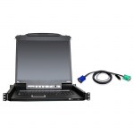 16-Port 19 inch LCD KVM Kit with 12-USB Cables - 16 Computer(s) - 19 inch LCD - 1280 x 1024 - 2 x USB
