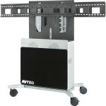 ELITE 2100 DUAL CART SUPPORTS DUAL DISPLAYS UP TO 70IN
