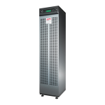 MGE Galaxy 3500 with 2 Battery Modules - UPS - AC 208 V - 8 kW - 10000 VA - 3-phase - RS-232 - output connectors: 3