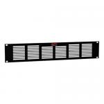 Rack panel (vented) - black - 2U - for NetShelter AV Enclosure