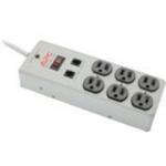 SurgeArrest Essential 6 Outlets Surge Suppressor - Receptacles: 6 x NEMA 5-15R - 540J