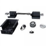 CEILING PANEL LOCK SYSTEM WITHOUT POWER SUPPLY