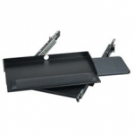 2U SLIDING PIVOTING 19IN RACKMO UNT KEYBOARD / MOUSE TRAY 9.5IND
