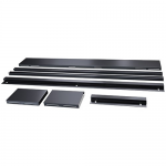Thermal Containment Curtain Door Mounting Rail 900 - 1200mm (36 - 48in) aisle width - Rack mounting kit