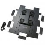 Roof Fan Tray - Rack fan tray - AC 120 V - black - for NetShelter SX