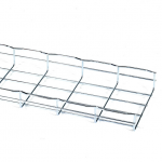 BASKET TRAY SECTION 2INH X 10FT L X 8INW STEEL 3-PACK