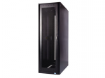S-Series Rack: 42U 24 inch W 48 inch D With Divider Panel - 42U Wide - Black